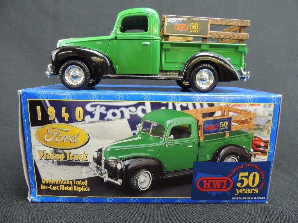 1940 Ford HWI 50 Years Die-Cast Pickup Truck with - 2