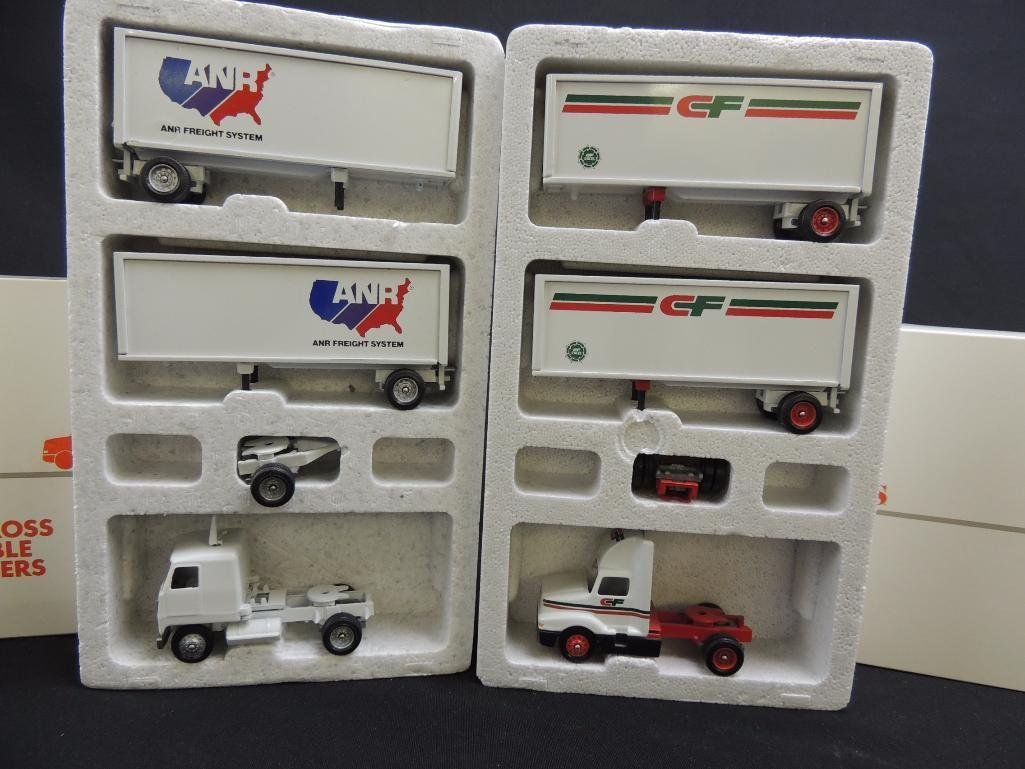 Group of 2 Winross Die-Cast Semi's Featuring ANR and CF - 2