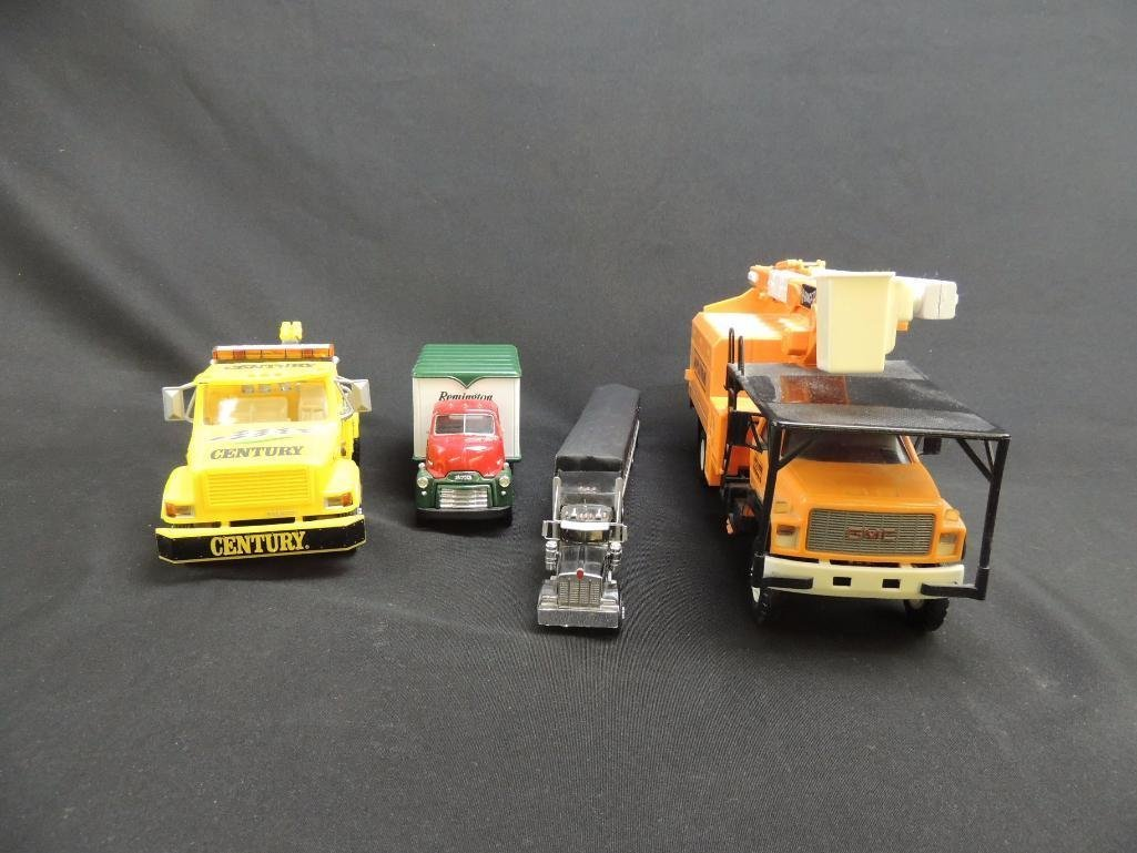 Group of 4 Replica Trucks Featuring Remington, Century,