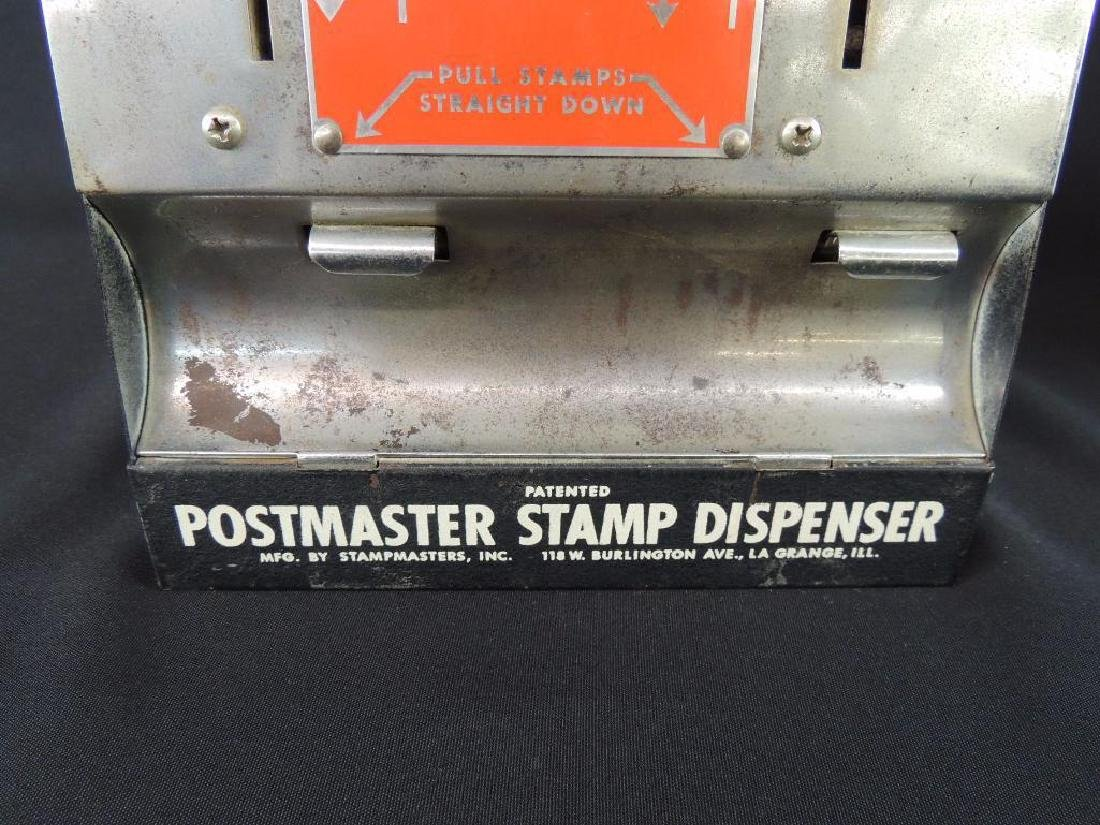 Antique Postmaster 10 Cents Stamp Dispenser with - 3