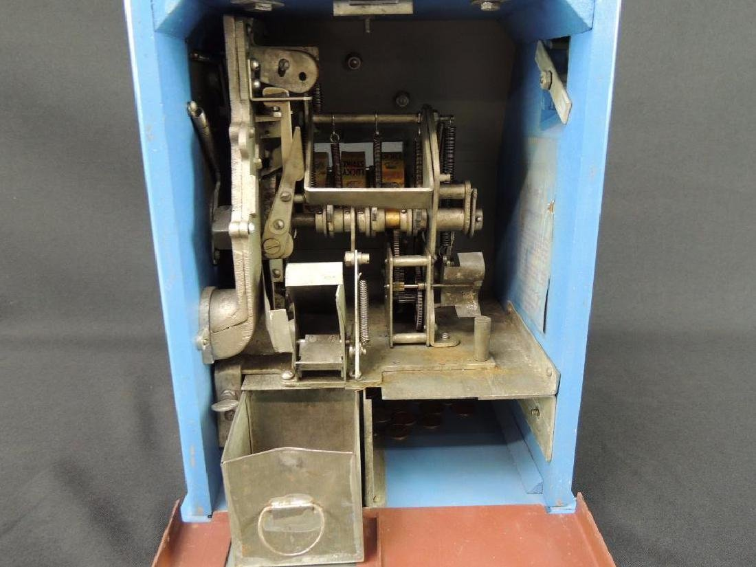 """Antique """"Penny Play"""" Win-A-Pack Trade Stimulator with - 8"""