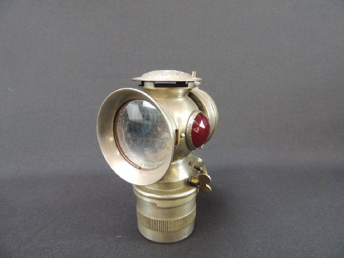 Antique Solar Bicycle Lamp