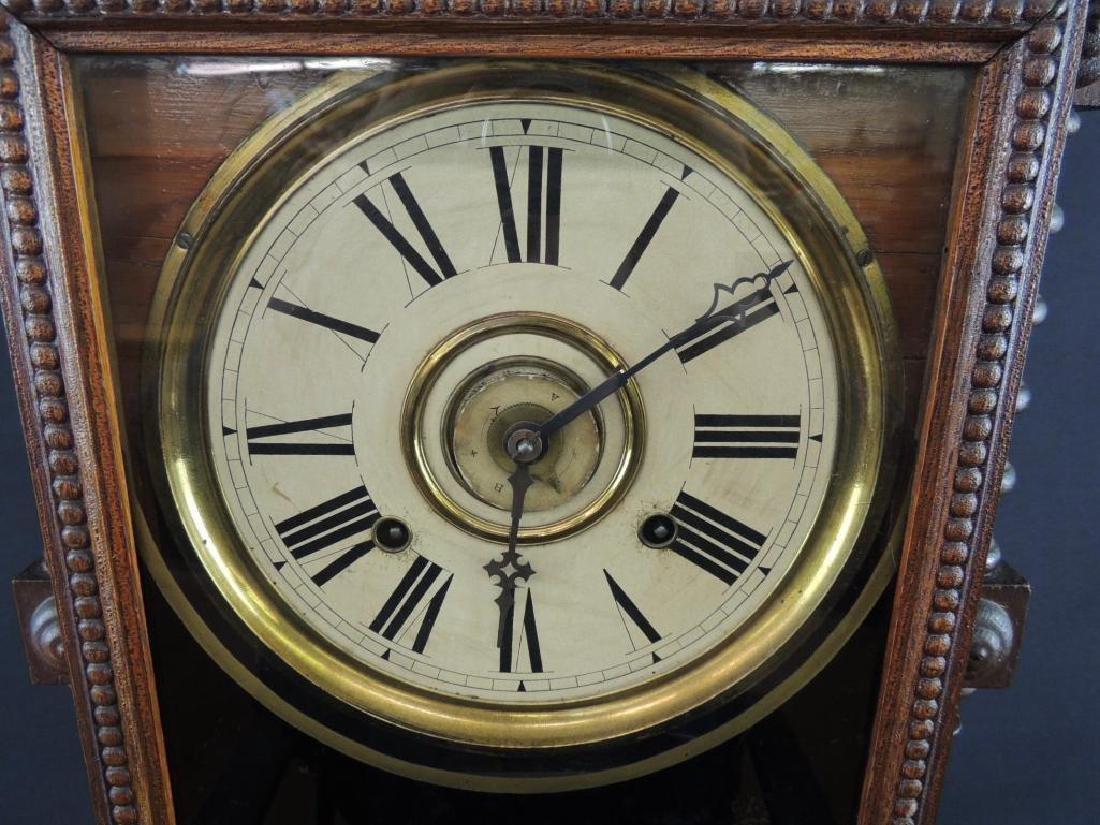 """Antique Wm. L. Gilbert """"Oriental"""" Eight Day Half Hour - 2"""