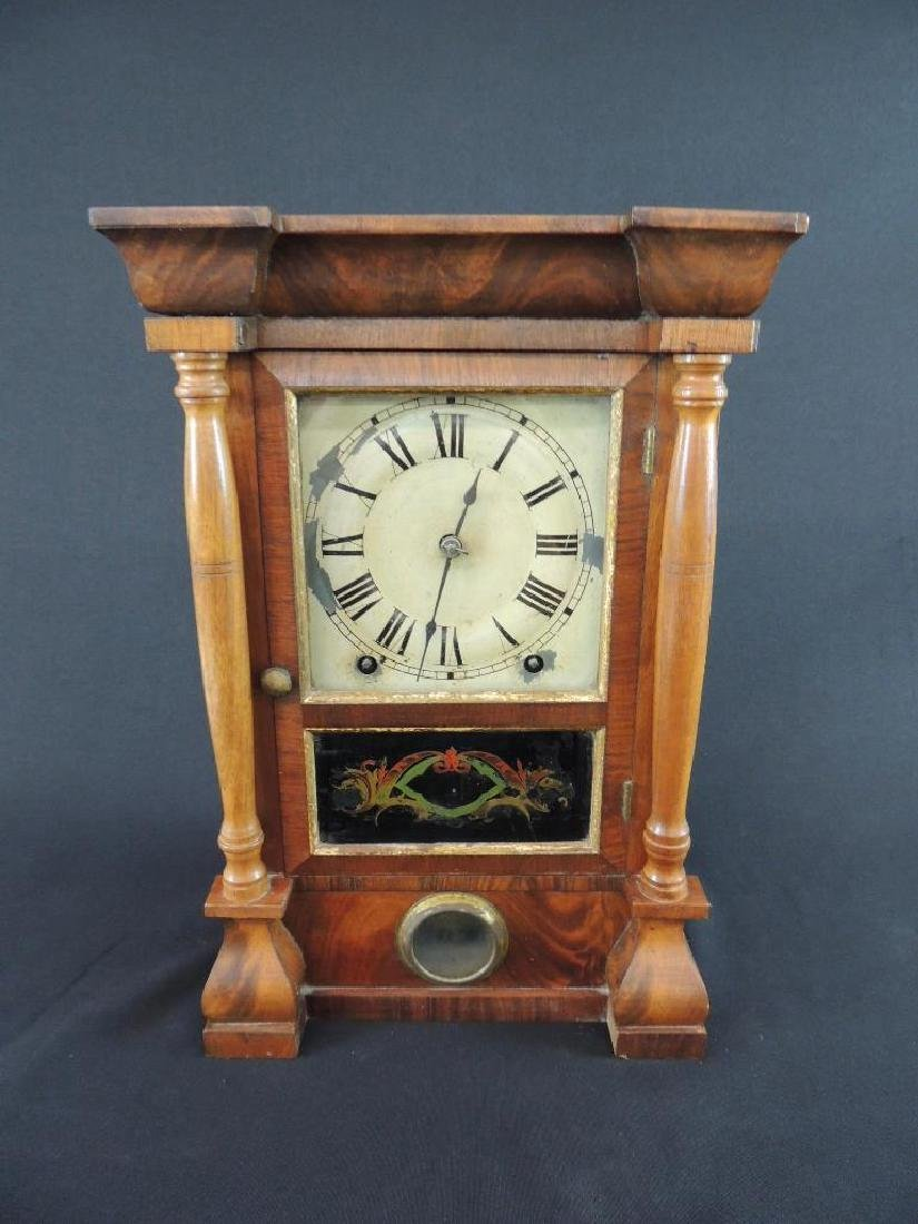 Antique Seth Thomas Eight Day Spring Kitchen Clock