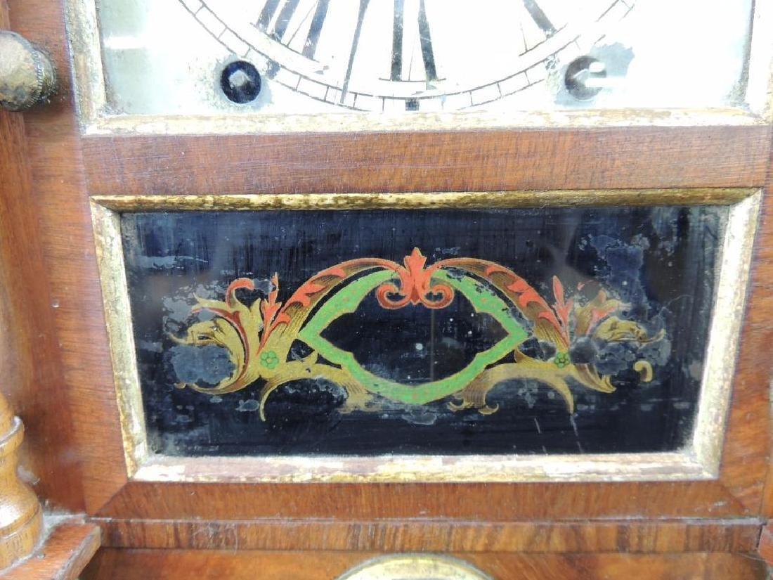 Antique Seth Thomas Eight Day Spring Kitchen Clock - 2
