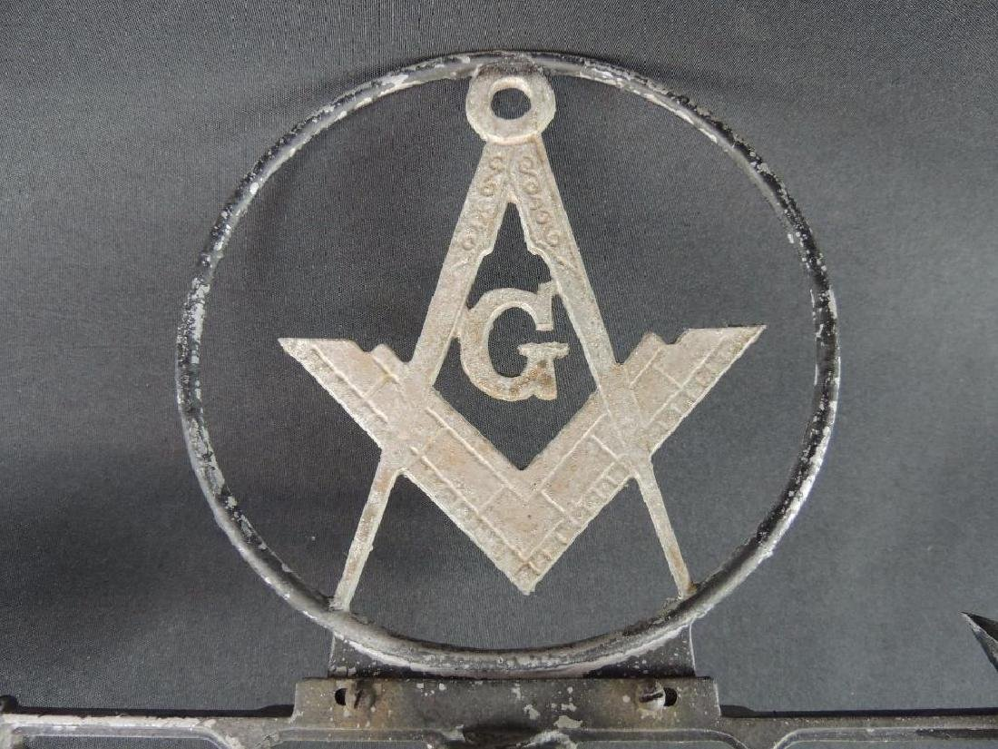 Antique Masonic Symbol Weathervane - 4