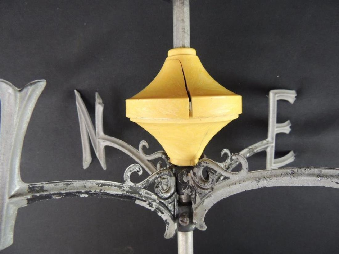 Antique Masonic Symbol Weathervane - 6
