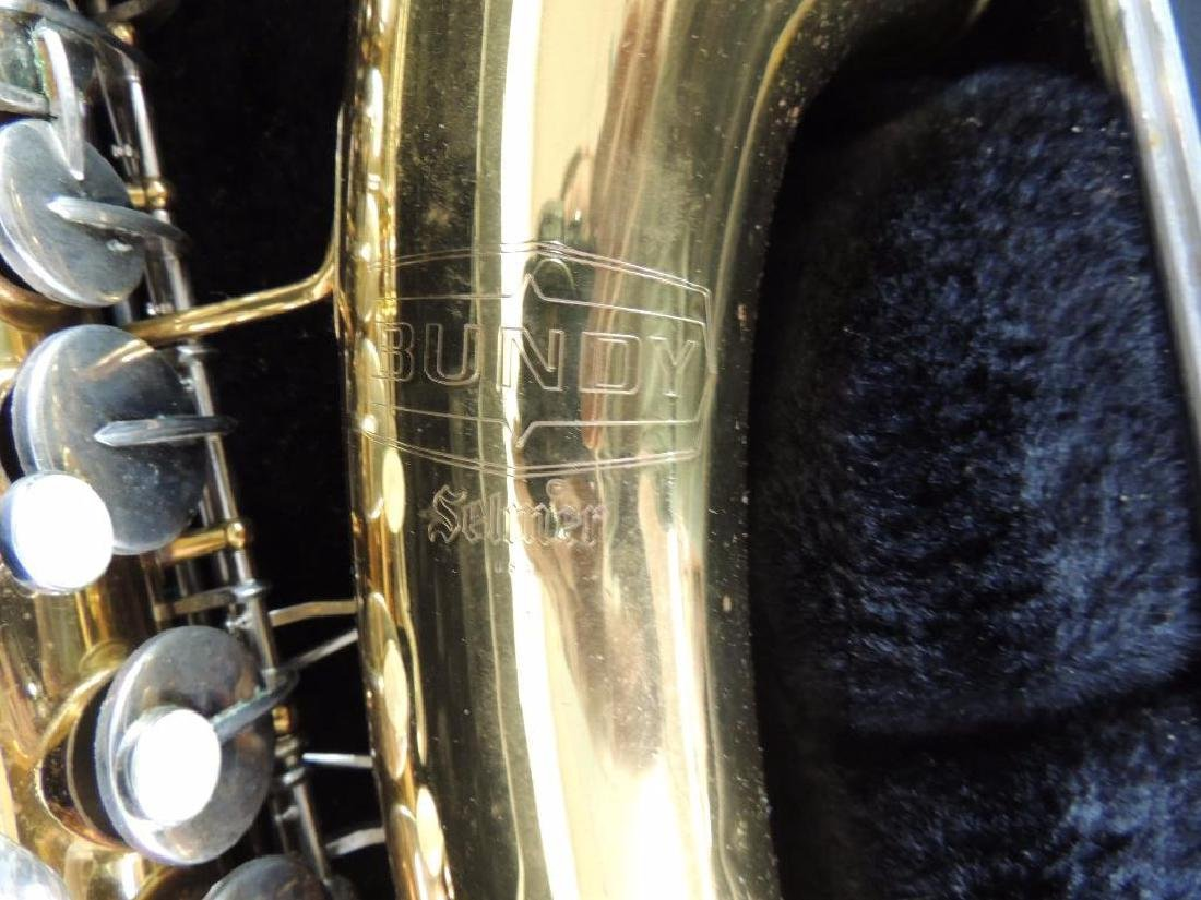 Bundy Selmer Saxophone with Hard Case - 2