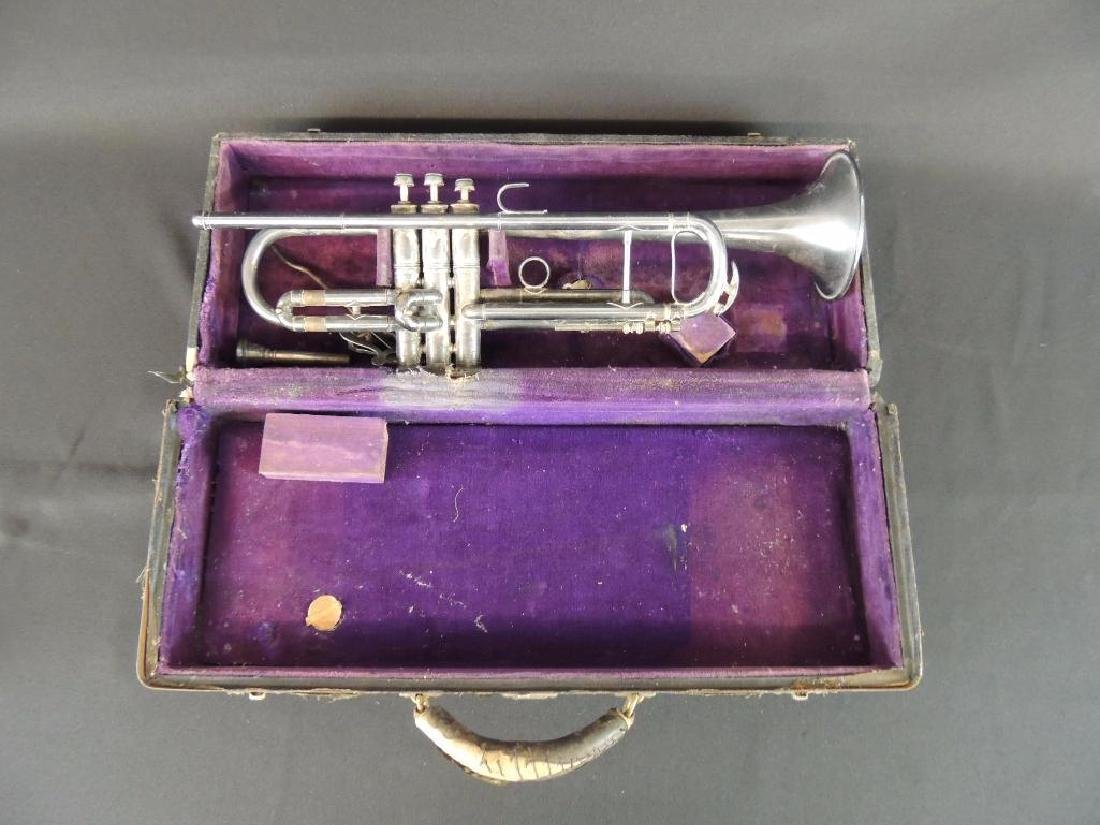 Pan American Antique Trumpet with Case