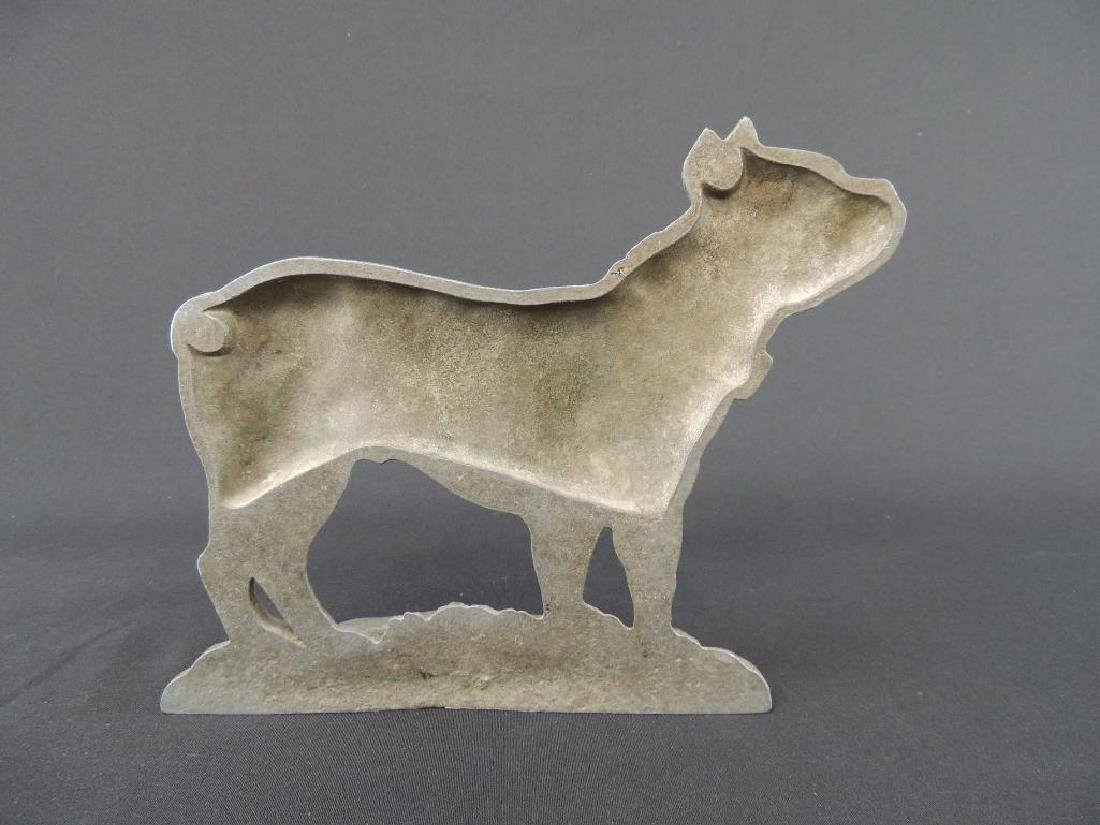 Antique Metal Terrier Dog Doorstop - 2