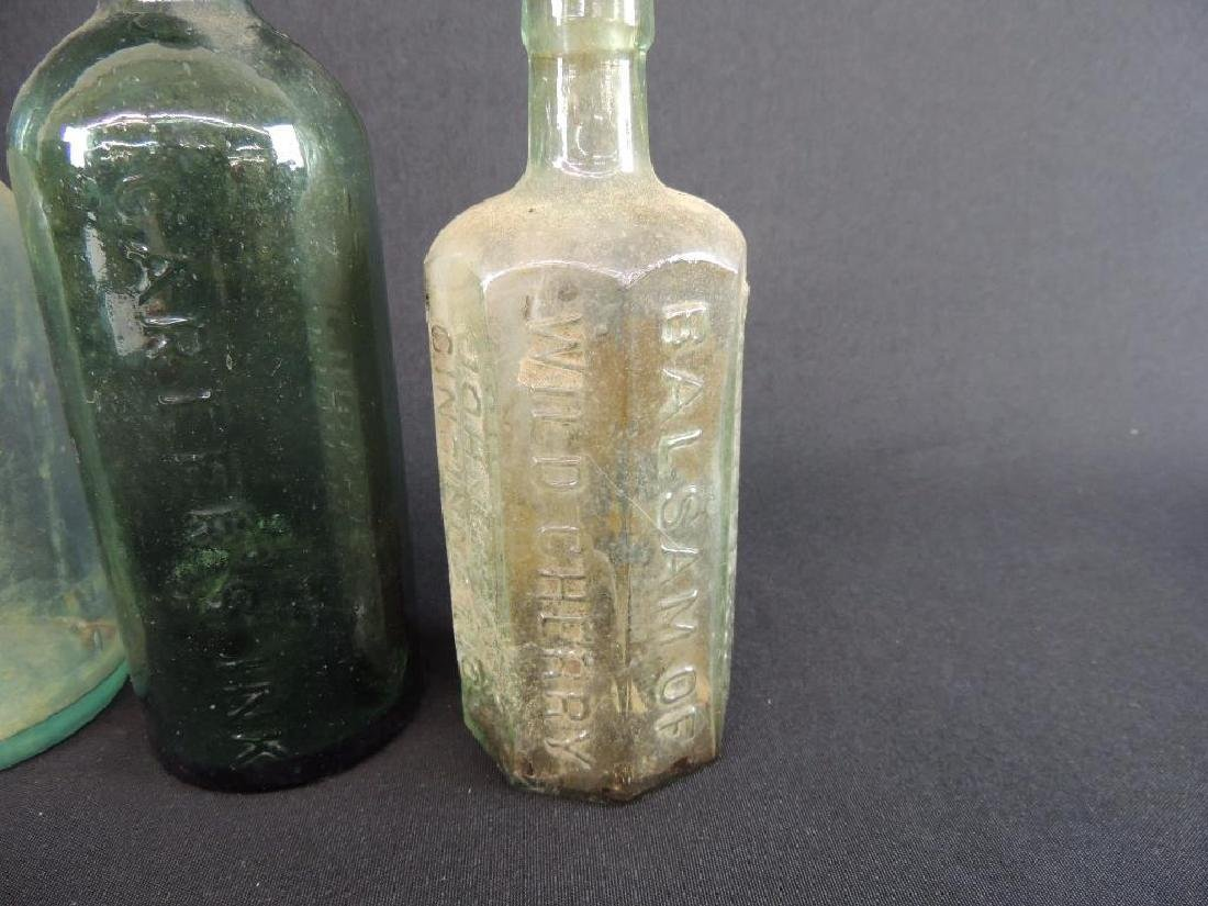 Group of 3 Antique Bottles Featuring John D. Park, - 2