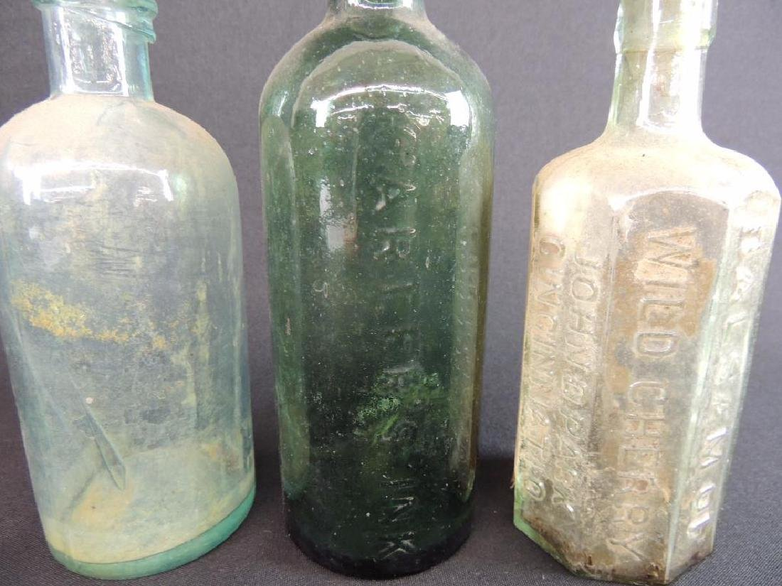 Group of 3 Antique Bottles Featuring John D. Park, - 3