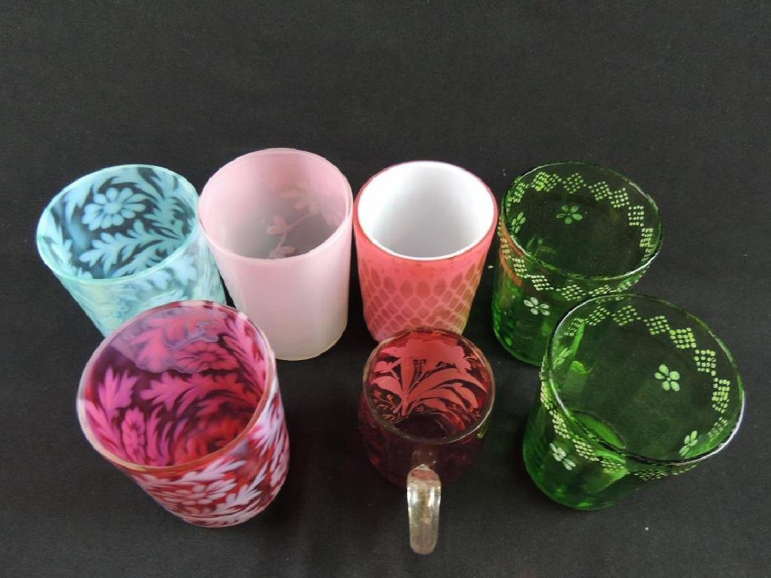Group of 7 Antique Tumblers - 3
