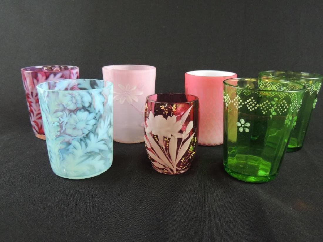Group of 7 Antique Tumblers - 4