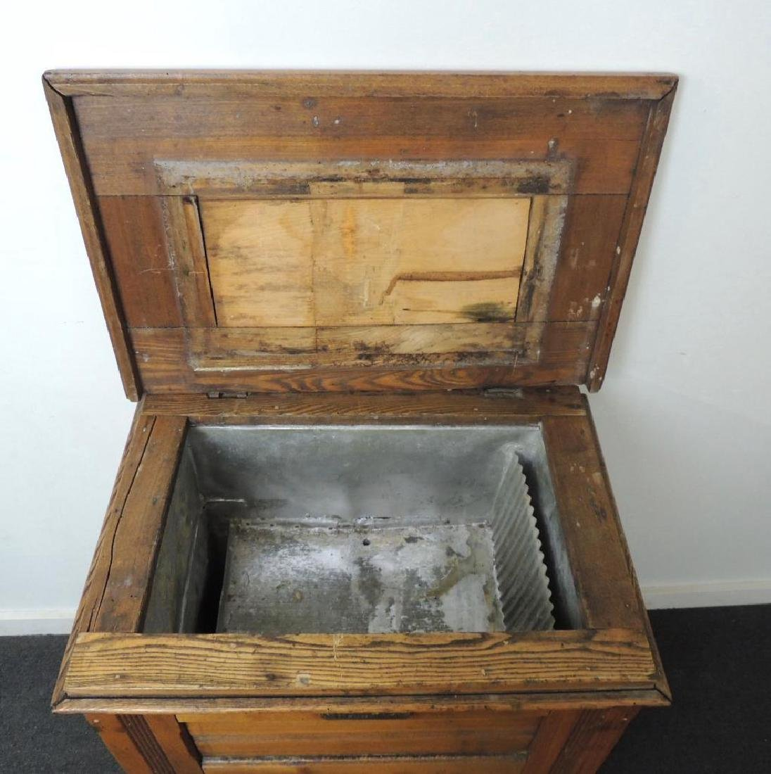 Antique Champion Ice Box - 4