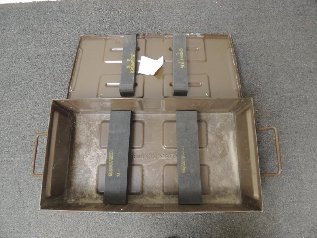 M889 81mm Cartridge Metal Ammo Box - 4