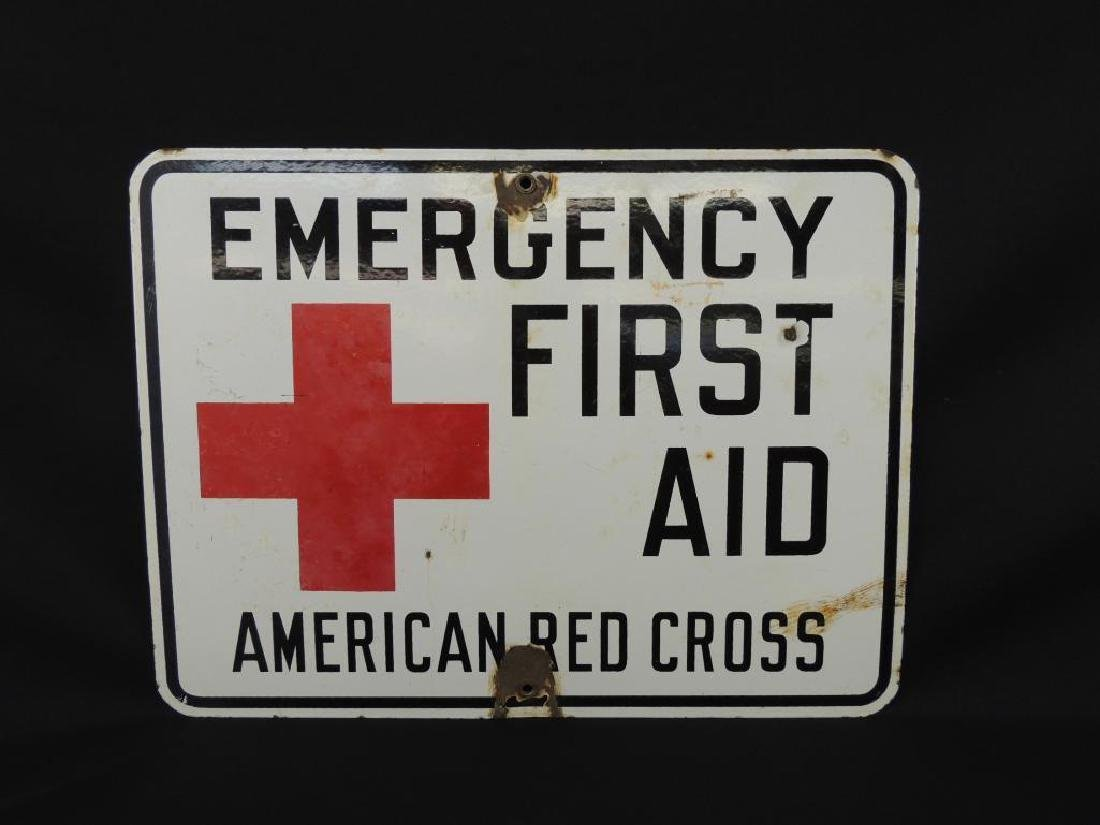 American Red Cross Emergency First Aid Vintage