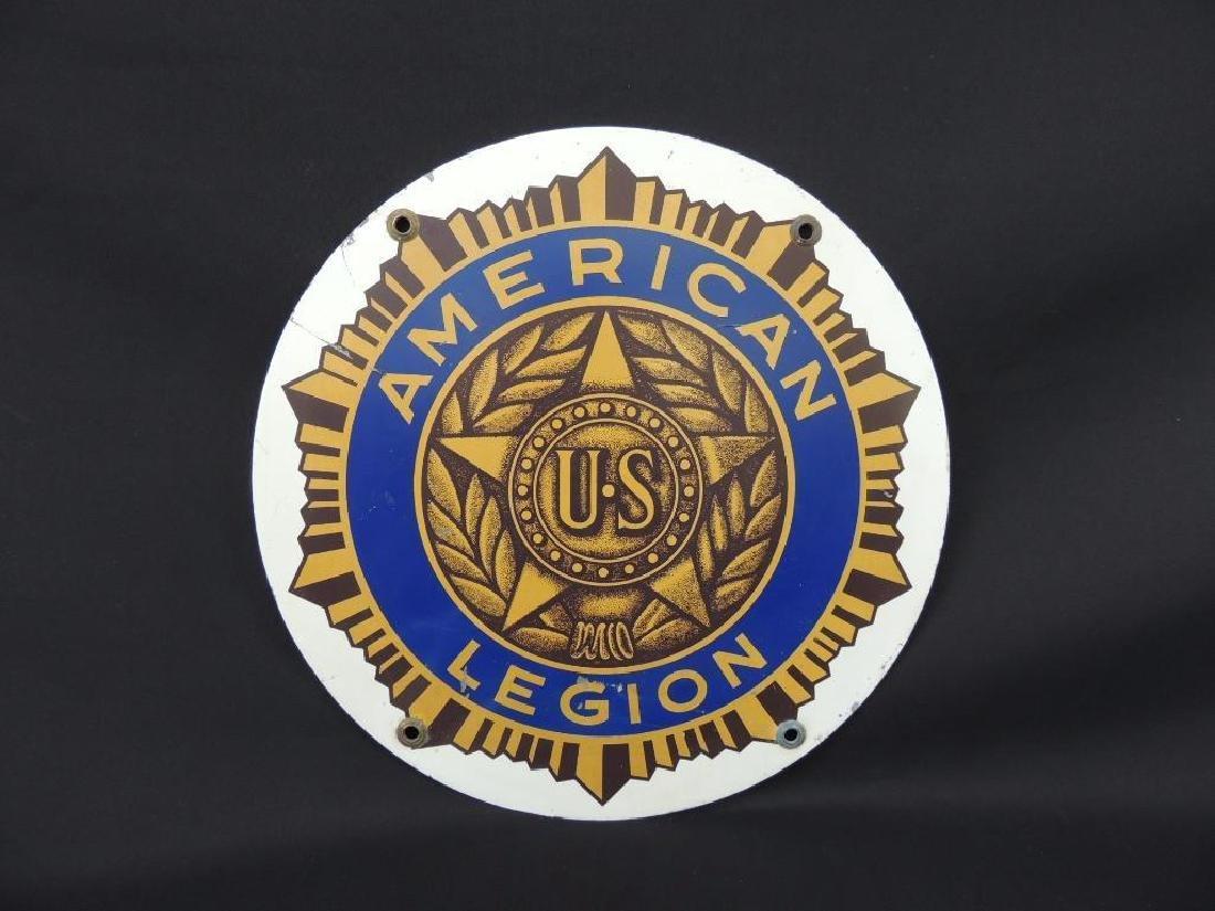 American Legion Metal Sign