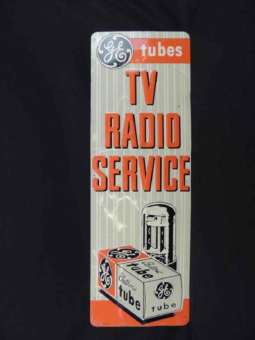 General Electric Tubes and Tv Radio Service Vintage