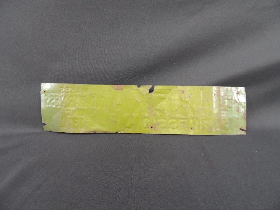 Eureka Harness Oil Vintage Metal Sign - 2