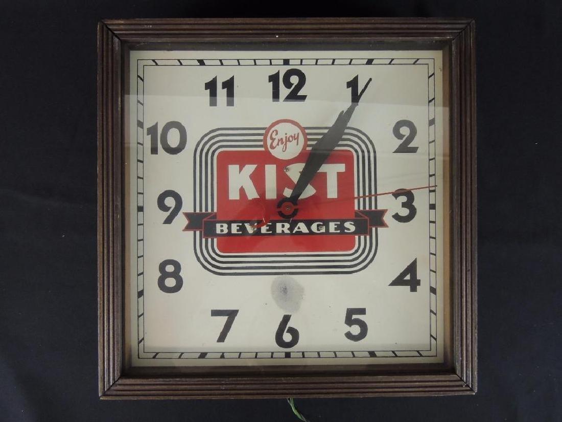 Kist Beverages Vintage Advertising Clock