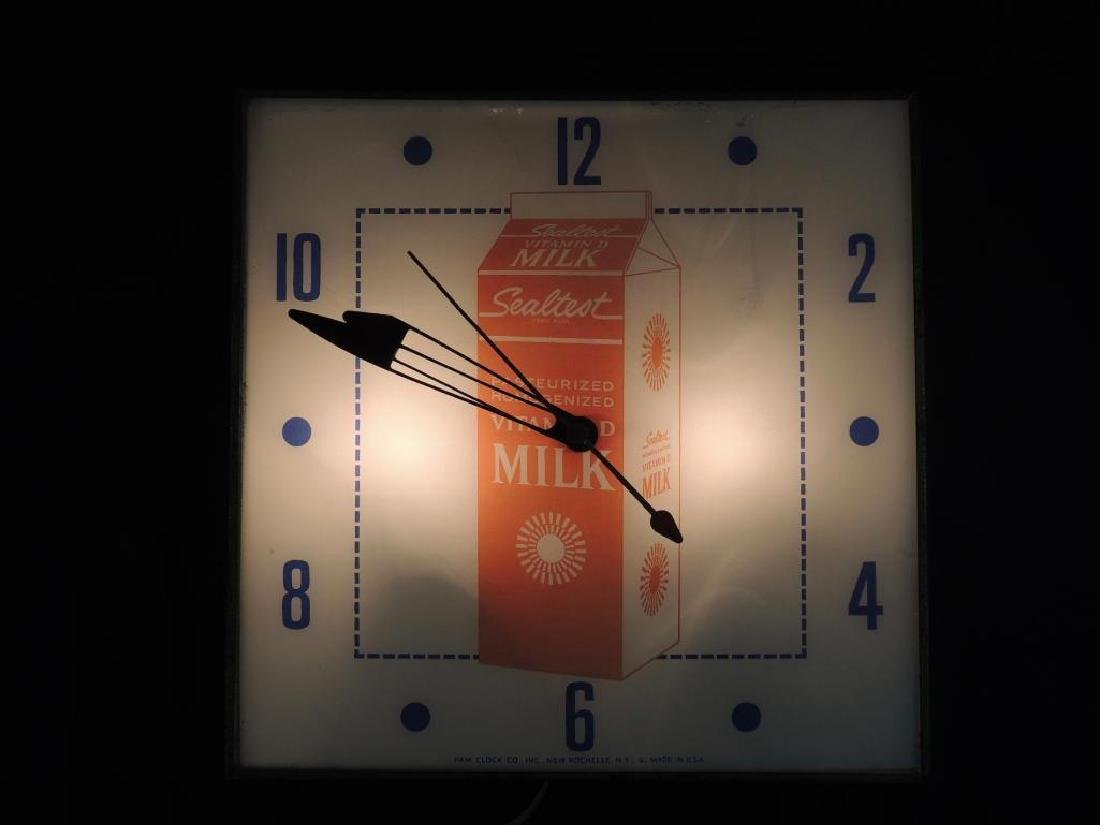 Sealtest Vintage Advertising Clock - 2