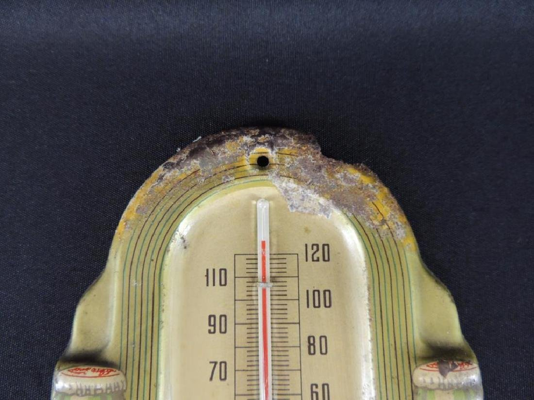 Coca-Cola Vintage Advertising Metal Thermometer - 2