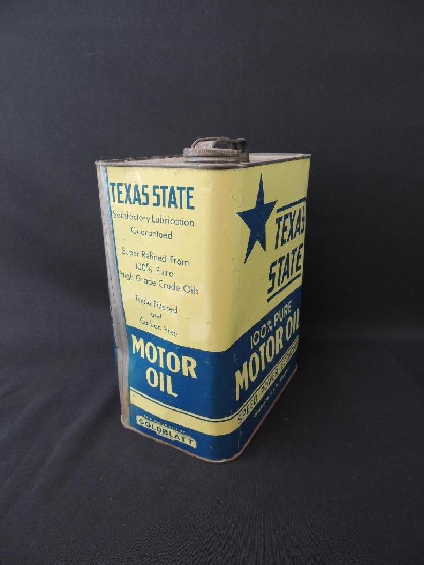 Vintage Texas State Motor Oil Can - 2