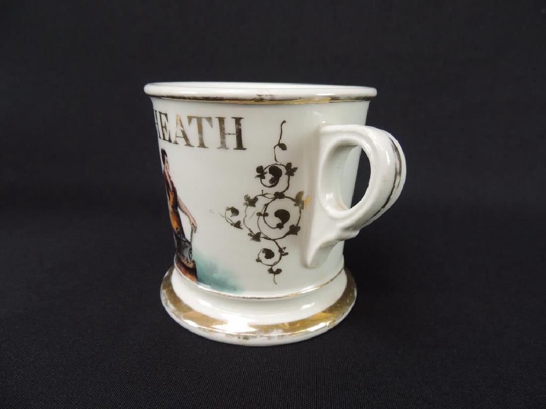 Antique Occupational Shaving Mug, Blacksmith - 3