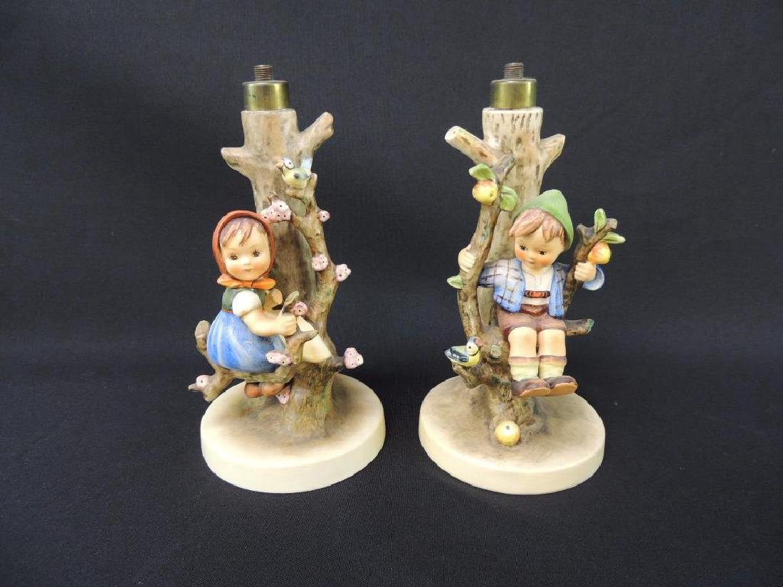 Group of 2 Hummel Lamp Bases