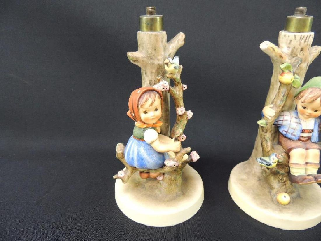 Group of 2 Hummel Lamp Bases - 3