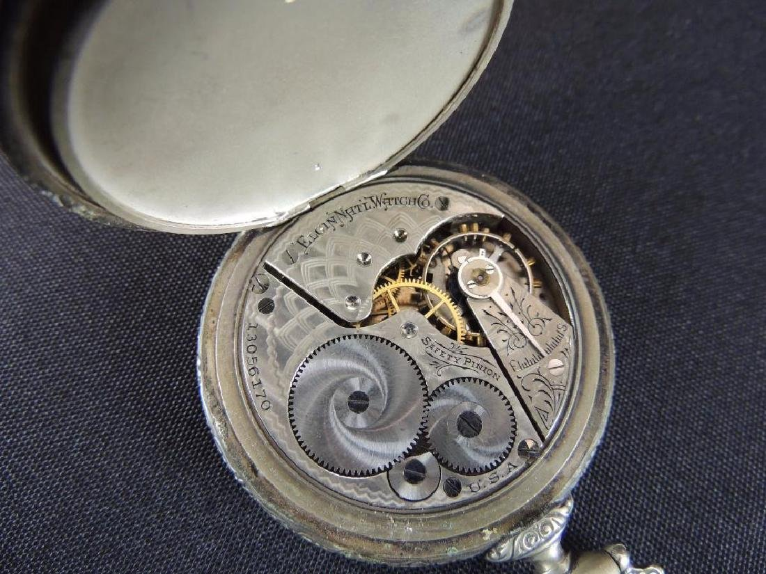Elgin National Watch Co. Open Face Pocket Watch - 3