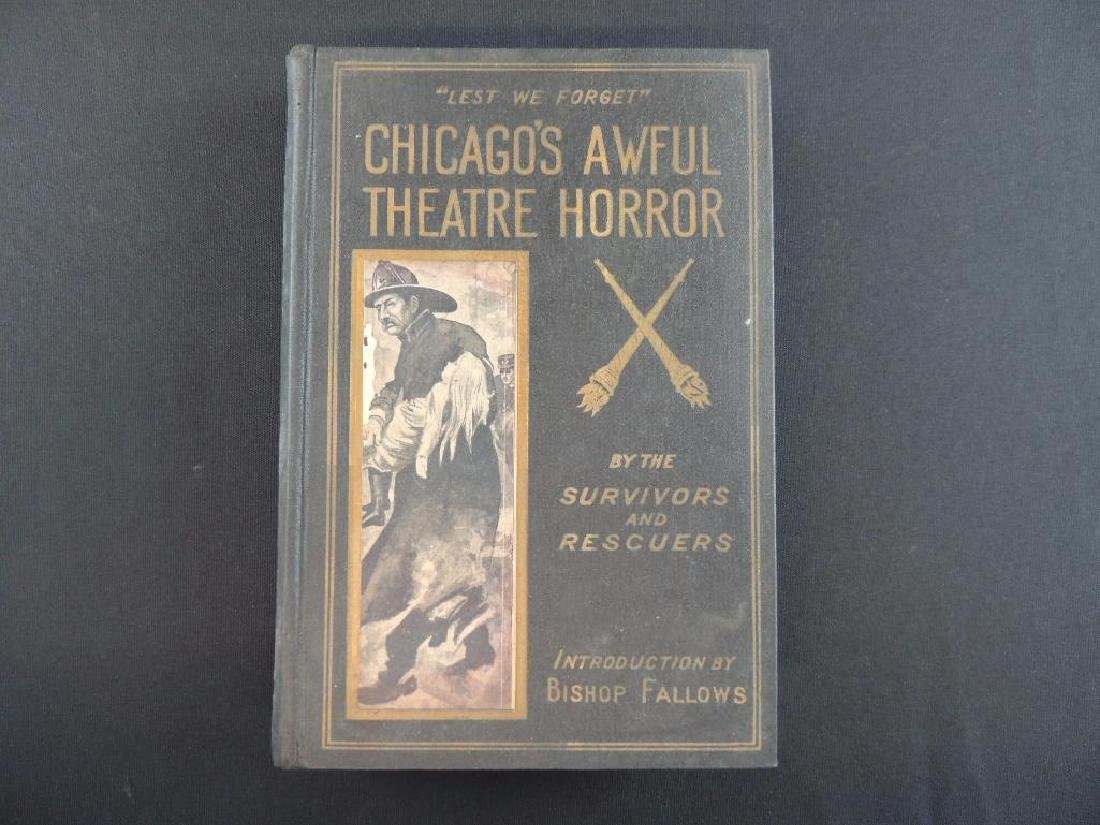 Chicago's Awful Theatre Horror by the Survivors and