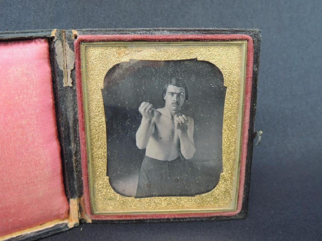 Boxer Charles Whitman Daguerreotype Photograph