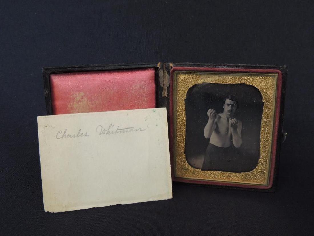 Boxer Charles Whitman Daguerreotype Photograph - 2