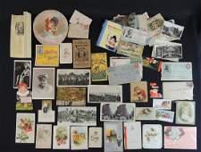 Large Group of Ephemera Featuring Tradecards,
