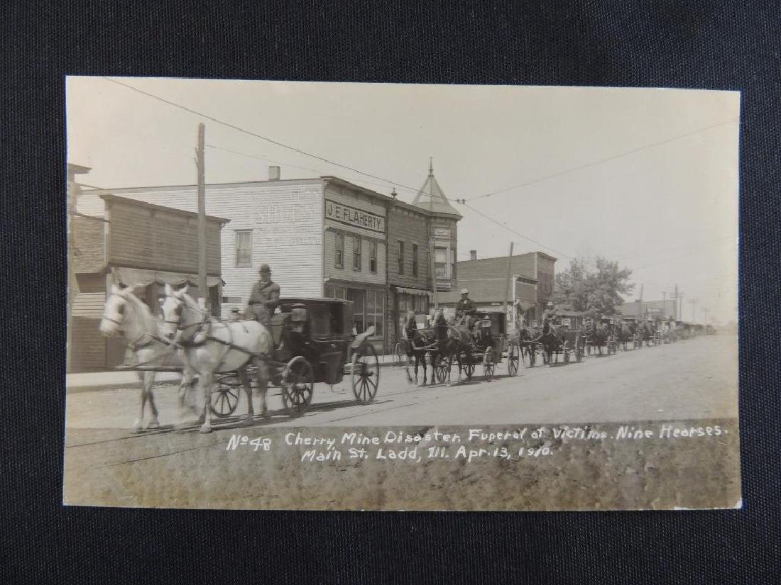 1910 Cherry Mine Disaster, Funeral of Victims with Nine