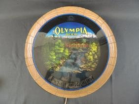 Light Up Advertising Beer Sign-Olympia Beer