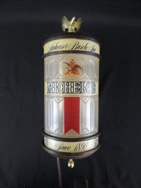 Light Up Advertising Beer Sconce-Michelob