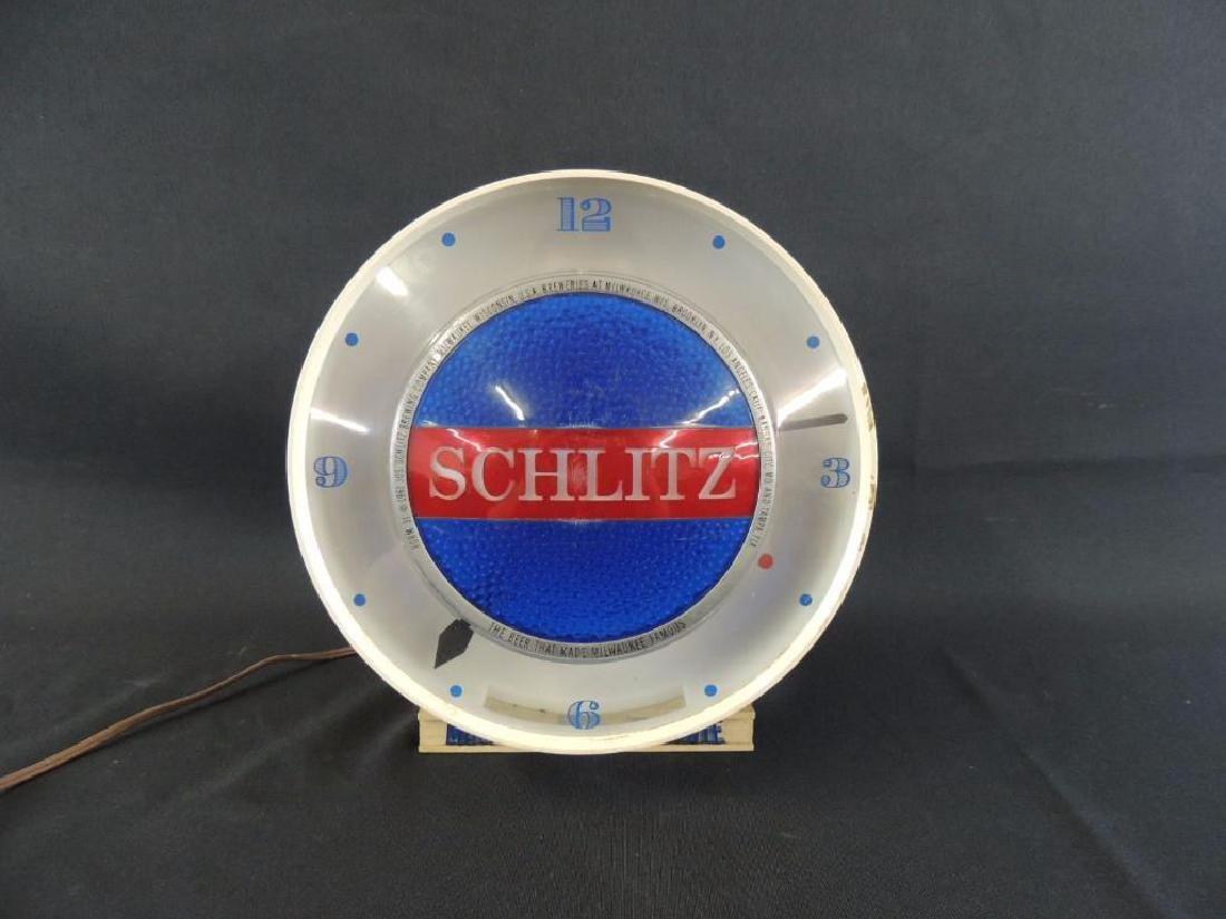 Light Up Advertising Cash Register Topper-Schlitz