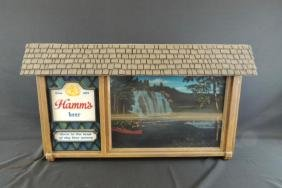 Light Up Advertising Beer Sign-Hamm's
