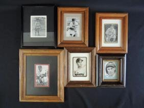 Group of 6 Cleveland Indian's Signed Player Photos