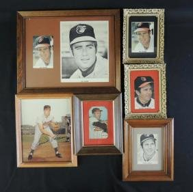 Group of 6 Orioles Players Signed Photos