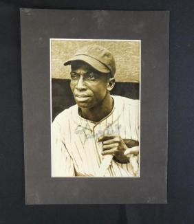 Cool Papa Bell Signed Press Photo