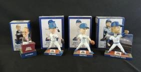 Group of 4 Wrigley Field 100 Bobbleheads
