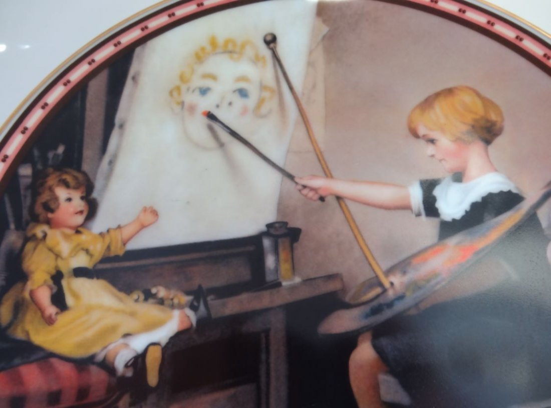 """NORMAN ROCKWELL'S SERIOUS BUSINESS"""""""