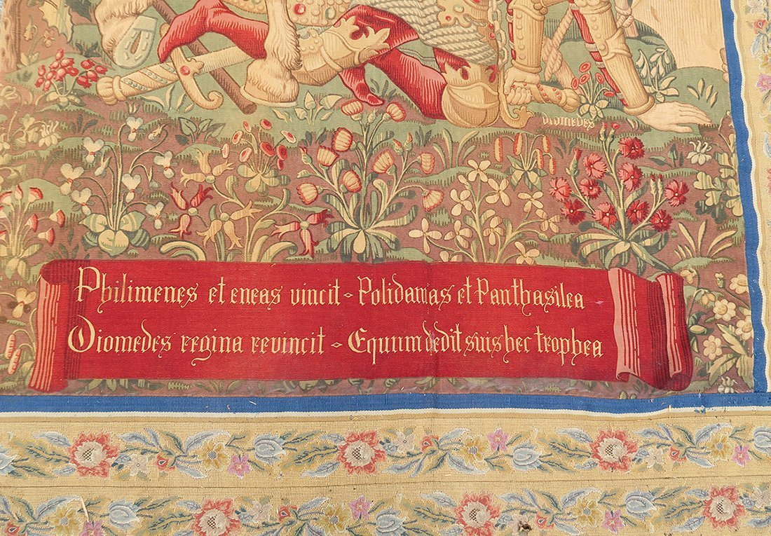 Large Pair of 17th C. Flemish Tapestry - 3