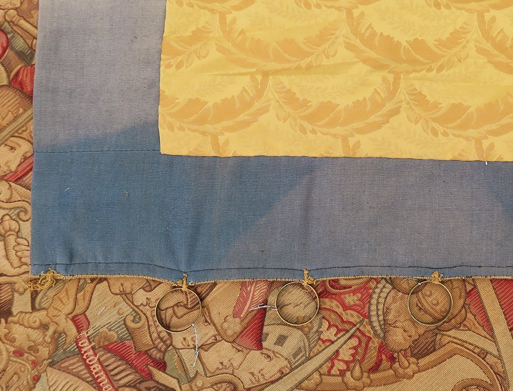 Large Pair of 17th C. Flemish Tapestry - 5