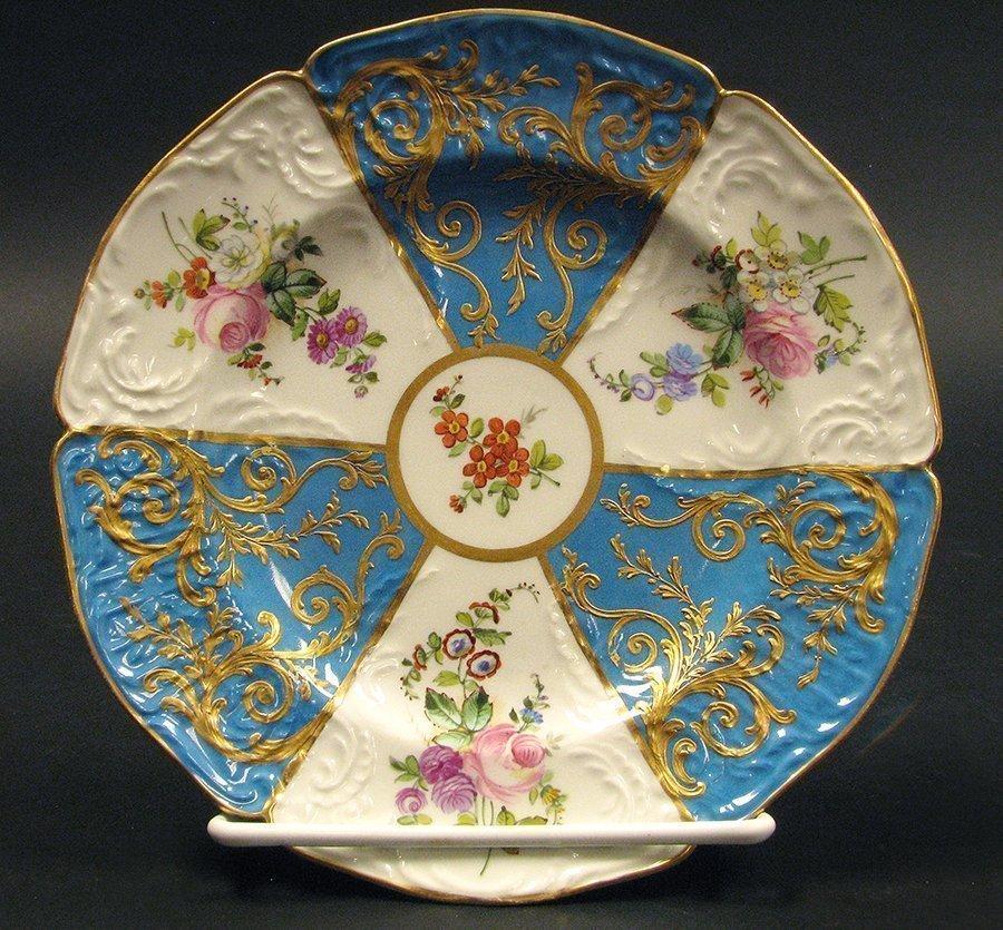 14 Sevres handpainted porcelain plates - 2