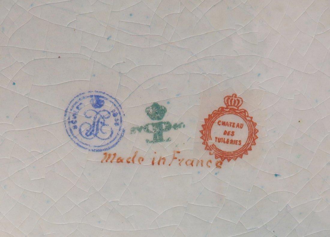 Large 19th C. Sevres Porcelain Jewelry Box/Casket - 5